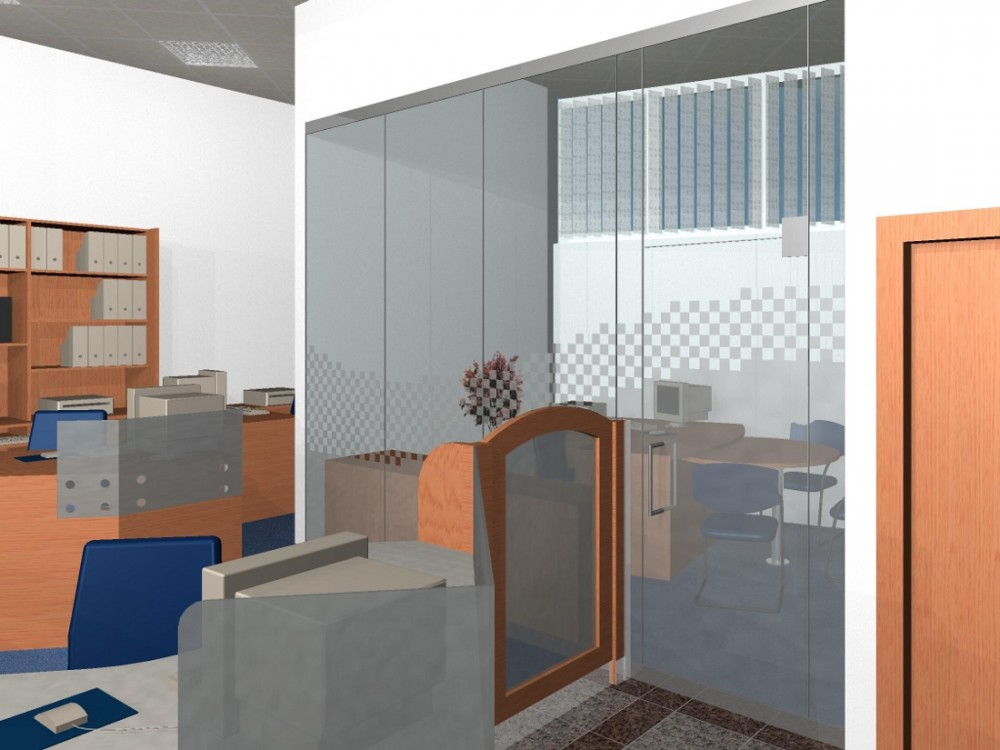 053d27017 At the back there is situated the branch director´s office and a daily  room. There are also sanitary facilities and a tech- nical room combined  with a ...